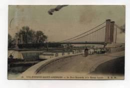 CPA 94: VILLENEUVE ST GEORGES   Pont Et Bateau Lavoir  VOIR DESCRIPTIF  §§§ - Villeneuve Saint Georges