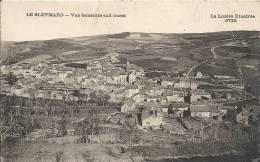 Le Bleymard : Vue Generale Sud Ouest - Le Bleymard