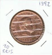 PORTUGAL - 20 Reis 1892 - Portugal