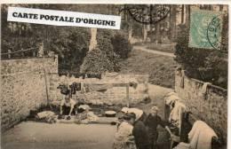 BREVILLE (MANCHE) - LE LAVOIR ET LA FONTAINE ST HELIER - France