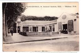 06 - Nice - Auto Centrale, 26 Boulevard Gambetta - Editeur: Tairraz (auto école Leçons Sur Renault, Citroën, Berliet) - Nizza