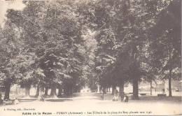 FUMAY - Les Tilleuls De La Place Du Baty - Fumay
