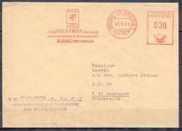 Lettre Cachet EMA    BIGGE-OLSBERG   Le 17 3 71  PUB  OVENTROP - Lettres & Documents