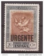 ES530-LA273.España Spain.Espagne ALEGORIAS DE GOYA AEREA 1930 (Ed 530**) Sin Charnela - Sin Clasificación
