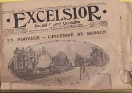EXCELSIOR N° 1904 DU 1ER FEVRIER 1916/ LE FOKKER EN PLEIN VOL/ DESSIN DE BENJAMIN RABIER - Kranten