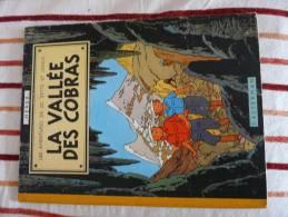 LA VALLEE DES COBRAS 1957 LES AVENTURES DE JO ZETTE ET JOCKO - Hergé