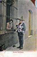 MEXICO, Nachgebühr Und Sonderstempel F73 Auf Ak - Novios Mexicanos - Ohne Marke - Mexiko