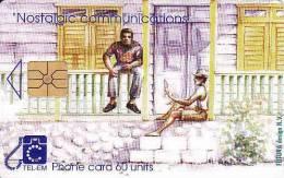 Saint Martin, La Partie Française Située Au Nord De L'île, Chip 60 Units, - Télécartes