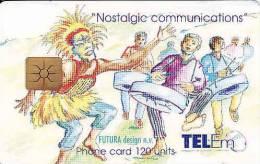 Saint Martin, La Partie Française Située Au Nord De L'île, Chip 120 Units, - Schede Telefoniche