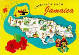 JAMAIKA, Sondermarke Auf Ak - Jamaica (1962-...)