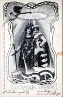 Sehr Schöne Patriotische Jugendstikarte 1900, Stempel Kolozsvar Und Nagy.Szeben - Phantasie