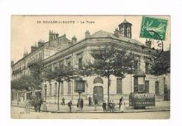 CHALON Sur SAONE:La Poste - Chalon Sur Saone