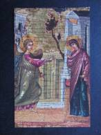 ICÔNE 14 (M16) PETITE CARTE - CHROMO (2 Vues) Mariae Verkündigung - Ikonen Museum Recklinghausen - N° 317 Bongers - Religion & Esotericism