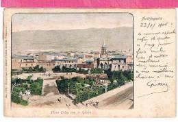 Chili ANTOFAGASTA Plaza Colon Con La Iglesia ,beau Cachet , Recto Verso - Chili