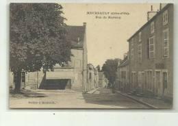 RUE DE MARTREY  CARTE AU DOS TOMBOLA  1905 - Meursault