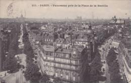 Paris - Panorama Pris De La Place De La Bastille - Mehransichten, Panoramakarten
