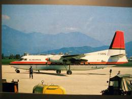 FOKKER F 27 ALISARDA  ITALIAN COMPANY ITALIA ITALIE - 1946-....: Modern Era