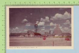 Pamour Gold Mine  (  Sout Porcupine Ontario Canada) Post Card Carte Postale - Mines