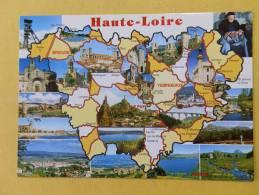 Dep 43 , Cpm Géographique , La HAUTE LOIRE Illustrée , 18319 (141) - France