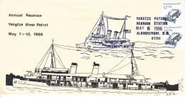 U.S.  YANGTZE  RIVER  PATROL  REUNION  COVER - United States