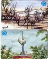 CARTES MAGNETIQUES  QATAR 30 QR & 50 QR    (lot De 2)  **** - Qatar