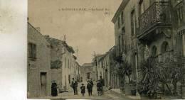 Saint-Couat-d´Aude  11   La Grand-Rue Bien Animée Rt Grand -Hotel - Other Municipalities