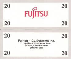 Test Note - FUJ-164d,  $20, Fujitsu - Specimen