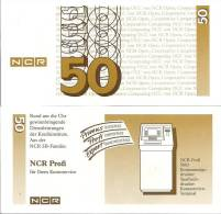 Test Note - NCR-233a, 50 Deutchmarks, ATM Machines - [17] Falsi & Campioni