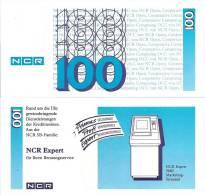 Test Note - NCR-234a, 100 Deutchmarks, ATM Machines - [17] Vals & Specimens