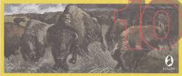 Test Note - TDLR-133, $10, DeLaRue, Buffalo Herd - [ 8] Fakes & Specimens