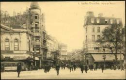 Bruxelles - Carte FLION N° 1 - Porte De Namur 1921 - Trams - Agent De Police - Belgique