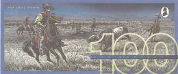 Test Note - TDLR-136, $100, DeLaRue,cowboys Roping Cattle - Falsi & Campioni