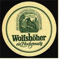 Bierdeckel  Wolfshöher Pils Ein Hochgenuss - Sous-bocks
