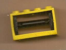 LEGO 4209 Hose Reel 2x4x2 Holder,string. Jaune. Ensemble N° 6697.treuil D´hélicoptere. - Lego System