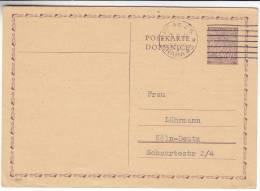 Bohème & Moravie - Entier Postal De 1941 - Bohemia & Moravia