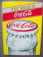 12 SCHEDE  COCA COLA,COMPLETE DELLE LORO FIGURINE ADESIVE - Coca-Cola