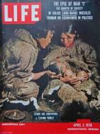 Magazine LIFE - APRIL 2 , 1956 - INTER. ED. -   SAN FRANCISCO -  TRUMAN - ESIENHOWER -    (3040) - Nouvelles/ Affaires Courantes