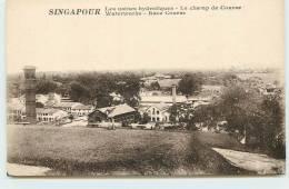 SINGAPOUR  - Les Usines Hydroliques, Le Champ De Course. - Singapore