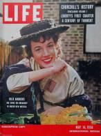 Magazine LIFE - MAY 14 , 1956 - INTER. ED. - JULIE ANDREWS - STALINE - Winston CHURCHILL - Nombreuses Publicités (3043) - Nouvelles/ Affaires Courantes