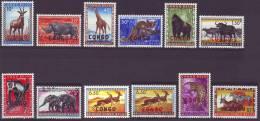 400 / 411 + 409 A ** - SERIE INCOMPLETE (manque 408) - Cote 8,60 Euro - République Du Congo (1960-64)