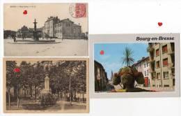 39627-ZE-01-BOURG-en-BRES SE- Lot De 15 CP -(13 CPM-2 CPA) - Cartoline