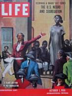 Magazine LIFE - OCTOBER 1 , 1956 - INTER. ED. - Marilyn Monroe - LA SÉGRÉGATION -  Elvis Presley  -  SUEZ   (3045) - Nouvelles/ Affaires Courantes