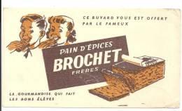 Buvard Pain D´épices Brochet Frères La Gourmandise Qui Fait Les Bons élèves - Peperkoeken