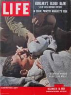 Magazine LIFE - DECEMBER 10 , 1956 - INTER. ED. -  Publicité SABENA , FORD, MARTINI  - ONU - Kirk DOUGLAS  (3046) - Nouvelles/ Affaires Courantes