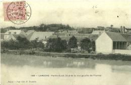 Laroche Saint Cydroine. Le Village Vu De La Rive Gauche De L'Yonne. - Laroche Saint Cydroine