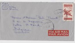 Liban - Lebanon - Lettre De Beyrouth Pour Belgique - Poste Aérienne - Liban