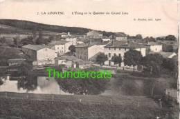 CPA 07 LA LOUVESC L'ETANG ET LE QUARTIER DU GRAND LIEU - France