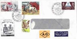 Lettre Envoyée Du Musée Postal 1979 N°4 Belles Oblitérations - France