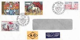 Lettre Envoyée Du Musée Postal 1979 N°5 Belles Oblitérations - France