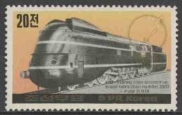 Korea North 1984 Mi 2465 ** 202 Express Train Loc. Krupp Fabr. Nr. 2000 (1939) / Krupp 202-Schnellzuglokomotive (1939) - Treinen